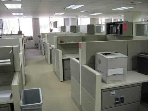 Used Herman Miller Ethospace Cubicles At MFC Office Los Angeles
